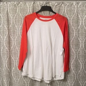 Old Navy Baseball Tee (w/ tags)